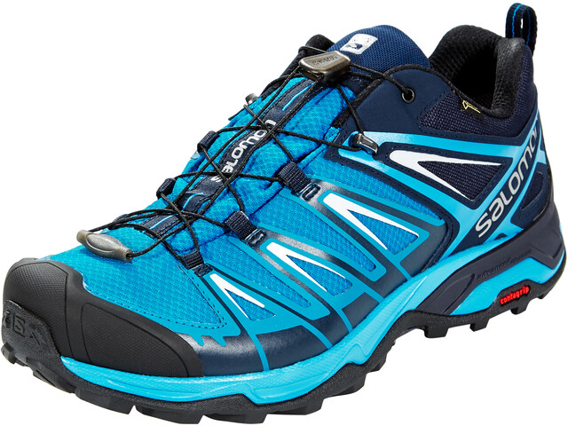Salomon X Ultra 3 GTX Shoes Herren mykonos blue/indigo bunting/pearl blue